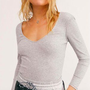 NWOT Free People Intimately Right On Time Top